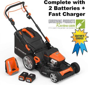 "Yard Force Self-Propelled 22"" Electric Lawn Mower"