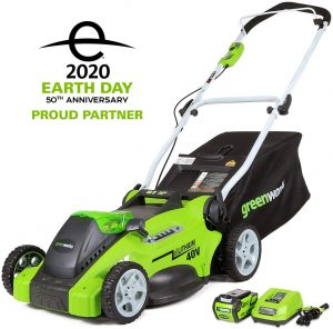 Greenworks 16-Inch 40V Cordless Lawn Mower
